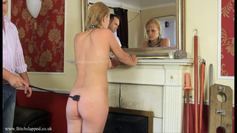 Hard tying, domination and castigation for sexy blond part 2 HD 1080p