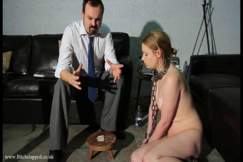 All slaves are caged whilst not in use within our faculty so it had better get used to the idea