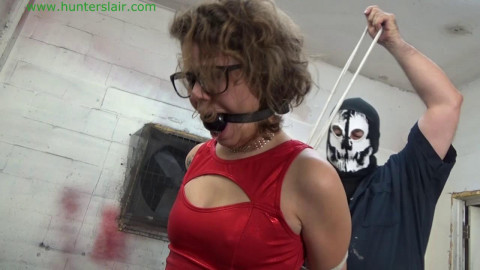 HunterSlair - Bailey Paige - Booted petite bimbos crotch roped torment