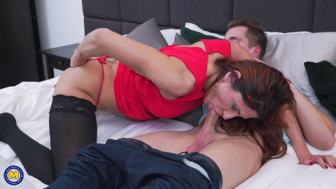 Anetta - Naughty housewife Anetta doing her toyboy FullHD 1080p