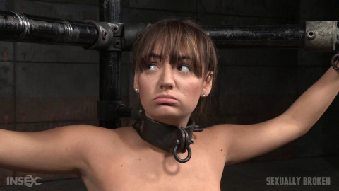 SexuallyBroken - Apr 06, 2016 - Charlotte Cross learns to multi task on a sybian