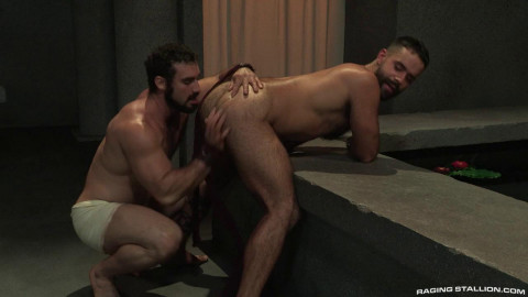 RagingStallion – Erectus – Teddy Torres bottoms for muscle hunk Jaxton Wheeler