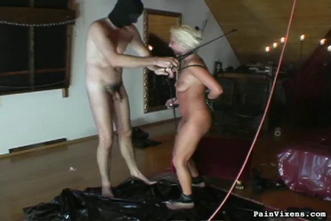 Painvixens - Oct 17, 2008 - Strapped Fetish Blonde