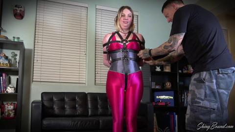Riley Daniels Belt Bondage Escape Challenge