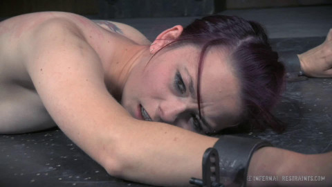 Hard restraint bondage, spanking and punishment for sexually excited slavegirl part 2