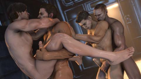 Resident Evil Orgy
