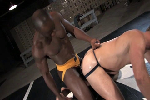 Race Cooper fucks Park Wiley - Brutal scene 1