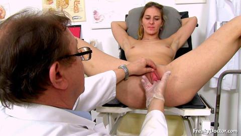 Dr. masturbate me when measuring pressure