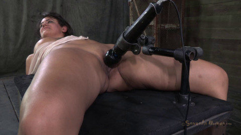 Amazing Milf With Booming Body Gets Her First Hardcore Bondage Threeway! Lactating Nipples!