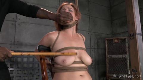 HT - Beating Bella - Redhead Girl Bella Rossi