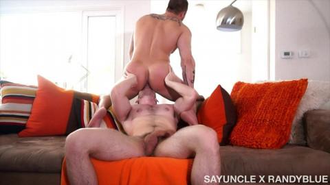 SayUncle X RandyBlue Kurtis Wolfe & Austin Wolf - Fruity Snack