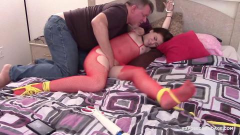 Bdsm Most Popular Petite Sadie Sapphire Tormented To An Orgasm!