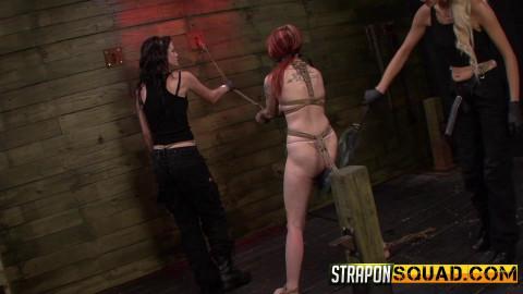 StraponSquad - Mar 17, 2015 - Sheena Roses Strapon Whore Training Session