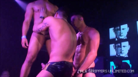 Male Strippers Unlimited - Fernando Albuquerque, Harry Louis and Rafael Alencar