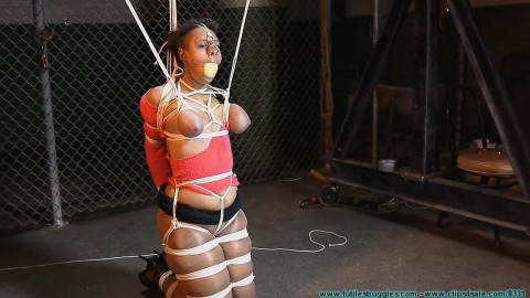 Dani is Tightly Bound and Abused