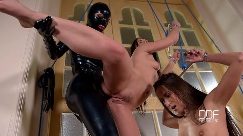 HoT - Jan 28, 2016 - Sex Goddess Treatment - Lesbian Fetish Scene With Strap-On Power
