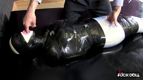 Unwrapping The Bondage Doll - HD 720p