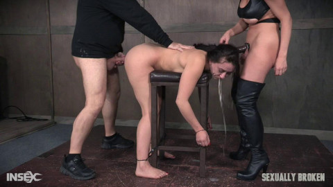 Amazing a-hole Mandy Muse receives humiliated with face fucking