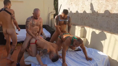 Raw Fuck Club - Group Sex Party In Sitges