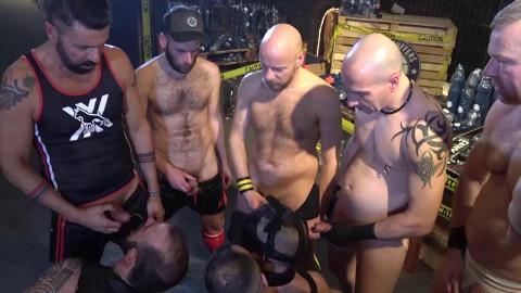 The group-sex! Alberto Esposito, Fritz der Haarige, Ale Tedesco