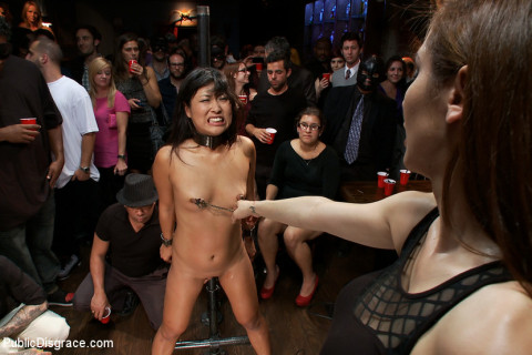 Adorable Asian Model Disgraced