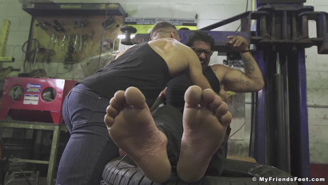 Mechanic Ryan Bones Tickled