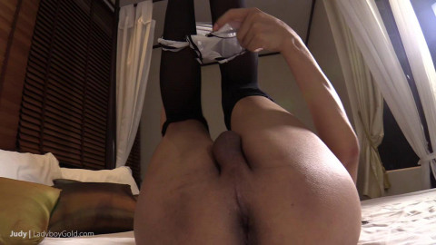 Judy 2 - Bodysuit and a Big Raw Dick