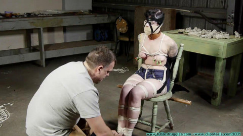 Drusillas First Hogtie - Part 3 - HD 720p