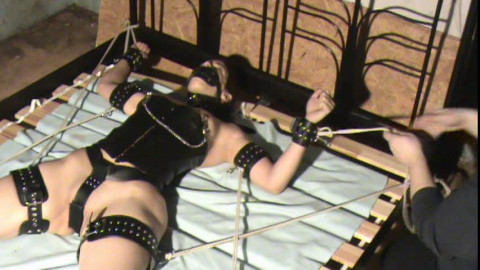 Domination of a Ponygirl .Bound ponygirl