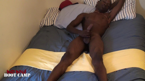 Pleasing His Big Twink Cock