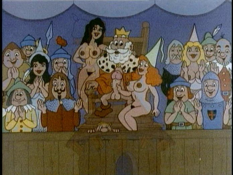 Orgy in ancient times
