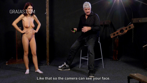 First Humiliation For New Girl Jasmin