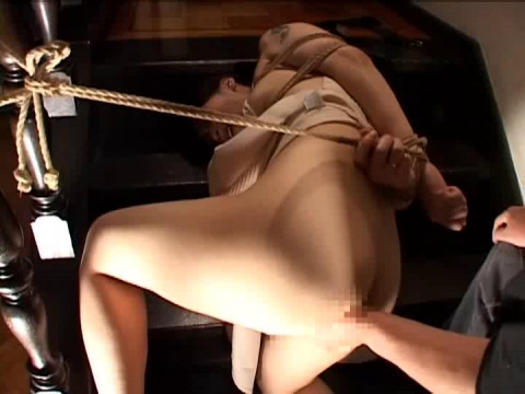Married woman trampled meat serf