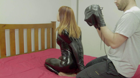 Restricted Senses - Sleepsack Hood & Armbinder Inception