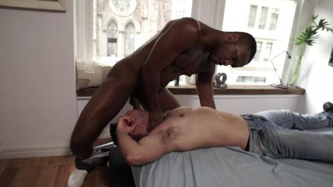 Lucas Leon Rides Andre Donovan s Raw Black Cock HD