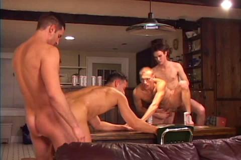 Aggressive orgy