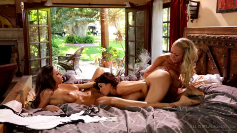 Vanessa Veracruz, Abigail Mac, Natasha Voya - Here Comes The Bride Part Two (2015)