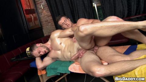 Rub Him - 2 Ramrods, One Massage - Ivo and Samuel