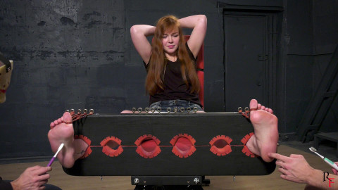 HD Dominance and submission Sex Vids Insanely ticklish very large feet of Anastasia