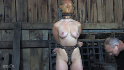 Tight bondage, torture and domination for horny brunette part2 FullHD