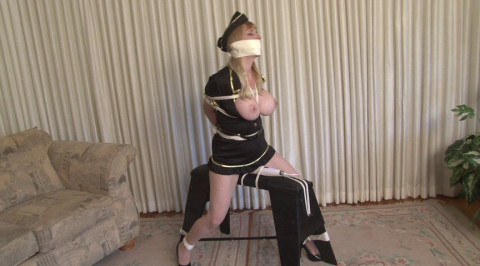 Bondage Orgasm for Stewardess Lorelei