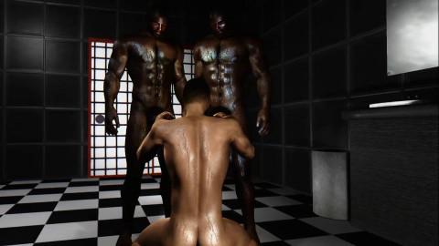 Sexy MMO Boys - Big Black Cock