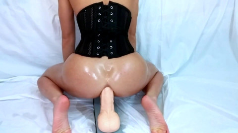 Phealinphine69 aka FitBootyQueen - Corset Grind Slow and Sexy then Bounce