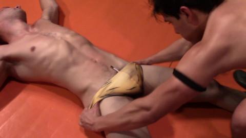 Gay Wrestling - John Wolfboy Woods vs Jesse Zane