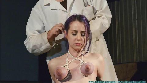 A Long Day of Hard Bondage for Rachel - Dr. Straps Disciplined 2 part - BDSM