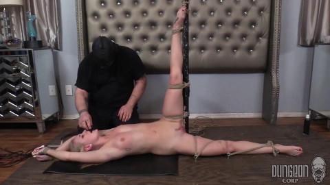Aubrey Marie - Aubreys First Bondage - Teenage Blonde bound and gagged
