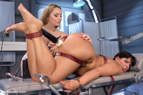 Lesbian Electro Sex Therapy