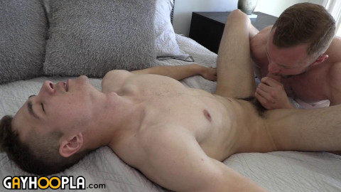 Hairy Bryce Beckett Makes Jayden Marcos Cum While Riding Dick