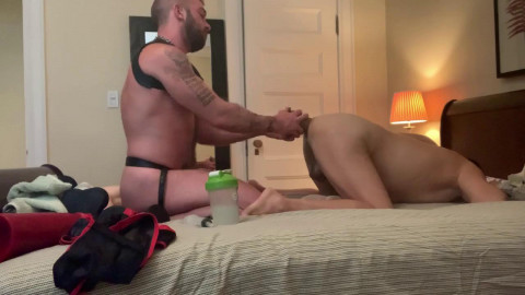 RawFuckClub Massive Toys and Cock for Elbow Deep