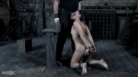 Tight restraint bondage, spanking and torment for bare hawt doxy part 1 HD 1080p